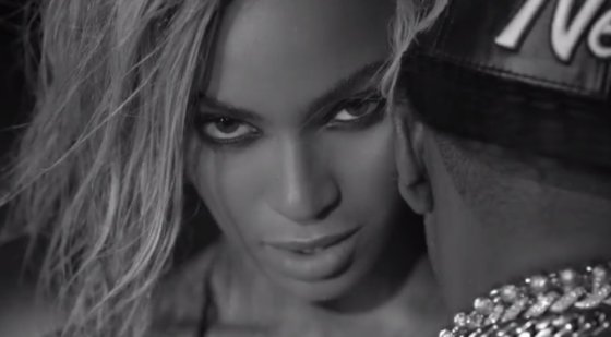 "Klipo ""Drunk in Love"" stop kadras/Beyonce"