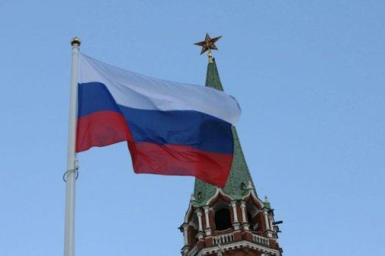 """""""Scanpix"""" nuotr./Rusijos vėliava"""