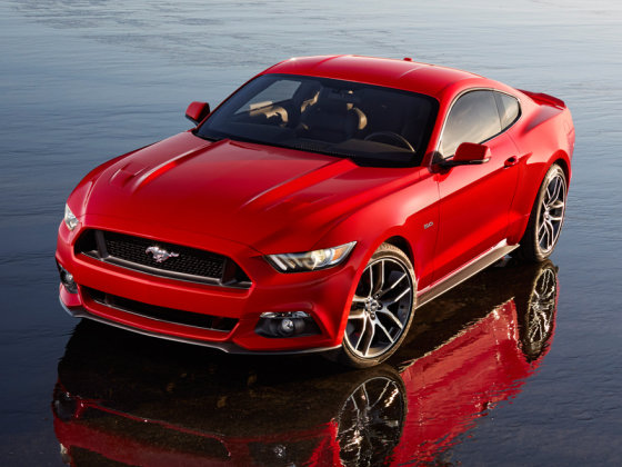 """Ford"" nuotr. /""Ford Mustang GT"""