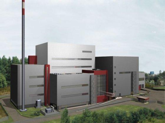 """""""Reenergy"""" vizualizacija/Taip turėtų atrodyti būsimoji Energijos iš atliekų jėgainė"""