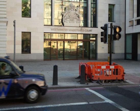 15min.lt nuotr./Vestminsterio magistrato teismas
