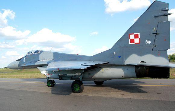 NATO karinių pajėgų naikintuvas