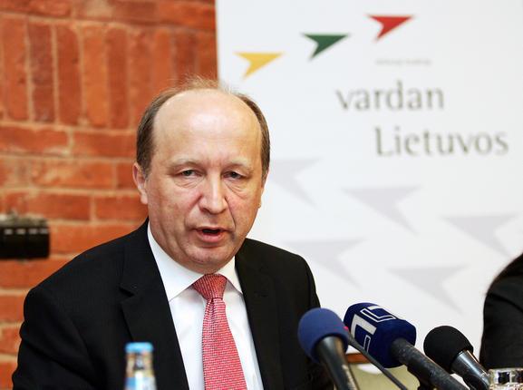 Prime Minister Andrius Kubilius
