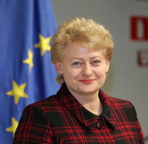 президент Республики Литвы госпожа Далия Грибаускаите