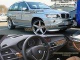 Schemoje matyti, kokios brangiausios BMW X5 detalės buvo pavogtos.