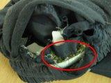 Kybartų pataisos namų nuotr./Narkotikai buvo paslėpti kelnėse.