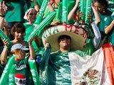 """AFP/""""Scanpix"""" nuotr./Meksikos rinktinės gerbėjai"""