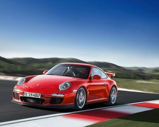"""Gamintojų nuotr./ """"Porsche 911 GT3"""""""