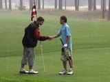 Sostinių golfo klubo nuotr./Prieš smūgį geriau apie jį nekalbėti