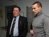 Irmanto Gelūno/15min.lt nuotr./ValentinasGalubovskis (dešinėje) ir jo advokatas