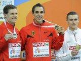"""AFP/""""Scanpix"""" nuotr./Stipriausi šuolininkai į tolį – viduryje – naujasis Europos rekordininkas Sebastianas Bayeris"""