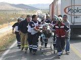 """""""Reuters""""/""""Scanpix"""" nuotr./Meksikoje pirmadienį vakare avariją patyrė autobusas, vežęs turistus iš Kanados ir JAV."""
