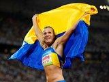 """Reuters""/""Scanpix"" nuotr./Olimpinė septynkovės  čempionė Natalija Dobrynska"