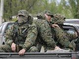 Reuters/Scanpix nuotr./Gruzijos kariai artėja prie maiataujančios Muchrovanio bazės.