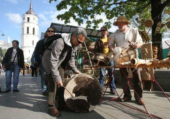 Savaitgalį Vilniaus Gedimino prospekte įvyks pirmoji Tautų mugė