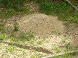 15min.lt skaitytojos Ugnės P. nuotr./Štai tiek smėlio seniūnija atvežė pažaisti vaikams