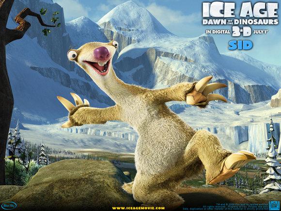 IceAgeMovie.com nuotr./Reklaminis plakatas