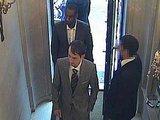 Kadras iš parduotuvės stebėjimo kameros įrašo/Parduotuvės vaizdo kameros įamžino abu nusikaltėlius