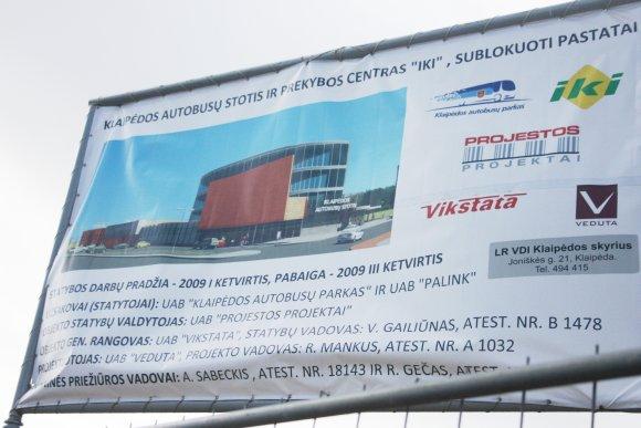 G.Kubiliūtės nuotr./Oficialus stoties atidarymas - kitą savaitę.