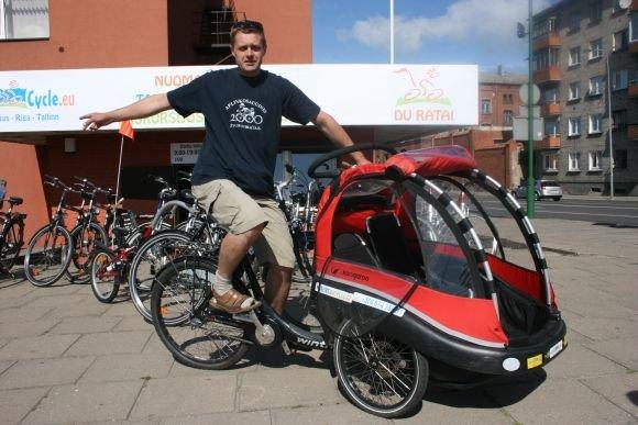 Sauliaus Ruþinsko vadovaujama bendrovë ðià vasarà neteko trijø dviraèiø.