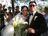 Irmanto Gelūno/15min.lt nuotr./Retro stiliaus vestuves pora atšventė Vilniuje