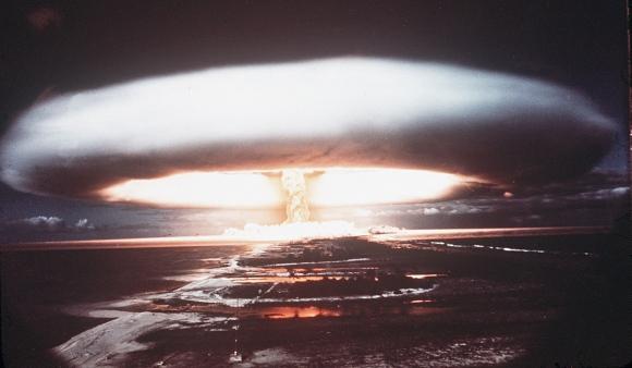 AFP/Scanpix nuotr./Branduolinis sprogimas.