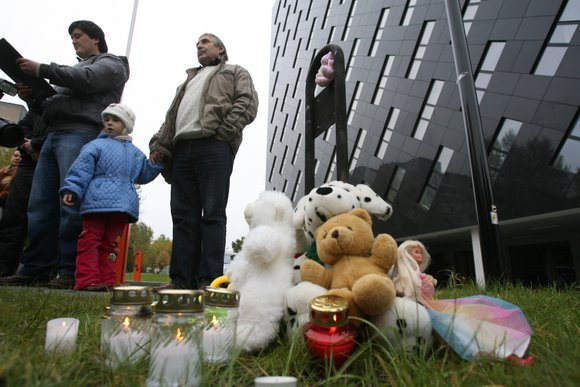 Akcija prie Generalinės prokuratūros pastato Vilniuje