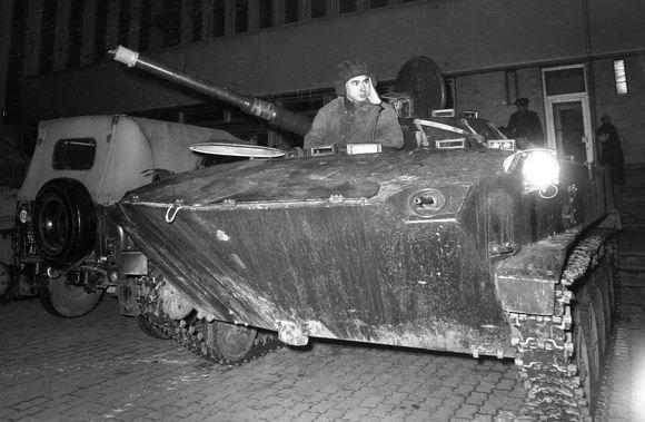 Ričardo Grigo/BFL nuotr./Okupantų tankas