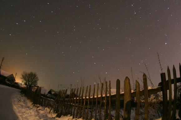 Irmanto Gelūno/15min.lt nuotr./Žvaigždėtas dangus.