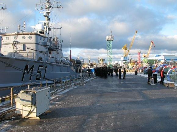 KJP nuotr./Karo laivų flotilė.