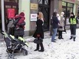 T.Grigalevičiaus nuotr./Karstelis prie prokuratūros.