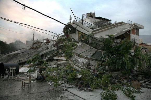 Reuters/Scanpix nuotr./Žemės drebėjimo padariniai