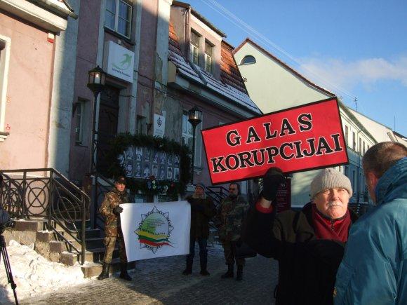 G.Kubiliūtės nuotr./Žmonės nepatenkinti dabartine valdžia.