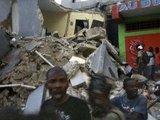 AFP/Scanpix nuotr./Žemės drebėjimo padariniai
