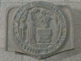 KTU archyvo nuotr./Paminklinės lentos fragmentas