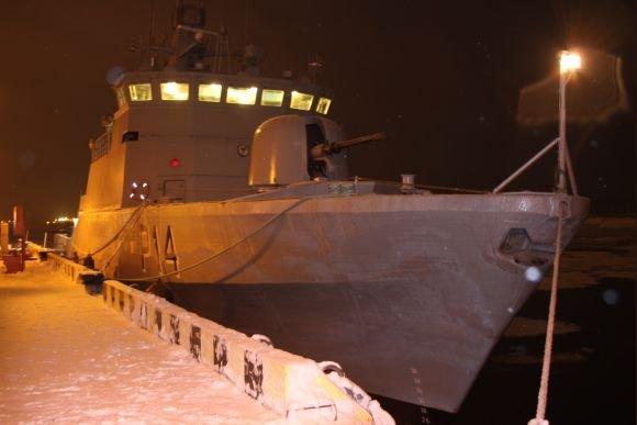 """J,Andriejauskaitės nuotr./Danijoje įsigytas patrulis laivas """"Aukštaitis"""