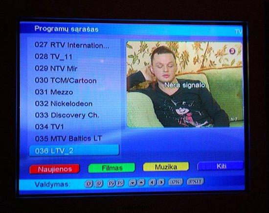 15min.lt/Kabelinės televizijos trikdžiai aeatadienio vakarą