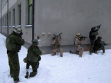 SOP/KAM nuotr./Specialiųjų operacijų pajėgų kariškių pratybos