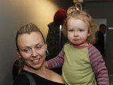 Irmanto Gelūno/15min.lt nuotr./Violeta Tarasovienė su dukrele Gabriele