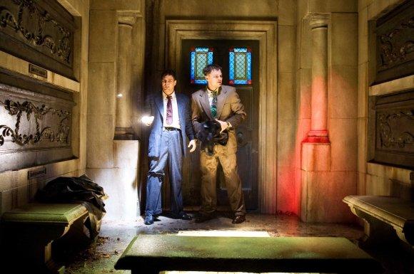 Scanpix nuotr./Markas Ruffalo ir Lenardo DiCaprio filme Kuždesių sala
