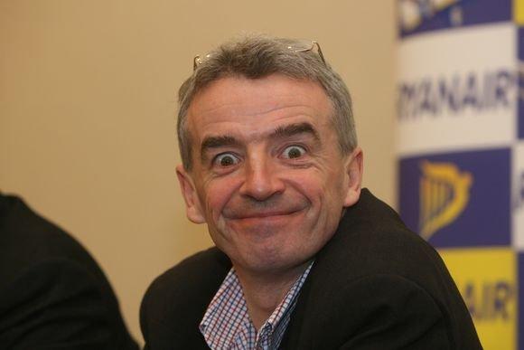 """Irmanto Gelūno/15min.lt nuotr./""""Ryanair"""" vadovas"""