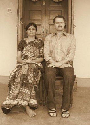 Asmeninio albumo nuotr./Tikrų tikriausia senoviško tipo nuotrauka, kokią turi visos Indijos šeimos.