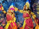 """AFP/""""Scanpix"""" nuotr./Sambos šokių mokyklos """"Salgueiro"""" pasirodymas"""
