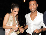 AOP nuotr./Cheryl Cole ir Ashley Cole'as