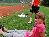Asm. archyvo nuotr./Talentinga tenisininkė darbo nebijo