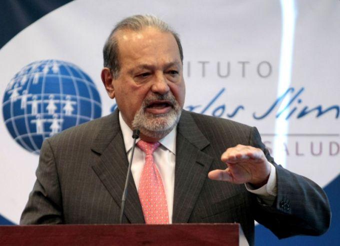 Meksikos milijardierius Carlosas Slimas