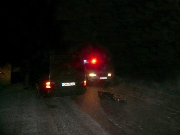 Vilkmerge.lt nuotr/Nelaimės vieta `iauriniame Ukmergės apvažiavime