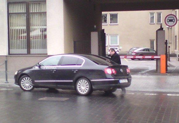 Sauliaus Chadasevičiaus/15min.lt nuotr./Žemės ūkio ministerijos tarnybinio automobilio vairuotojas pažeidė taisykles