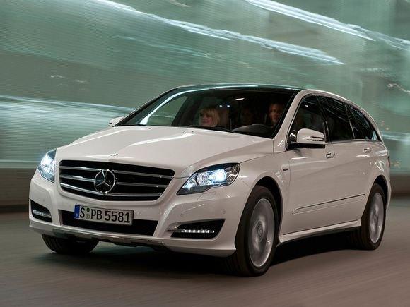 "Mercedes R Klase. ""Mercedes-Benz"" R klasė"