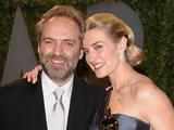 Scanpix nuotr./Kate Winslet su vyru Samueliu Mendesu